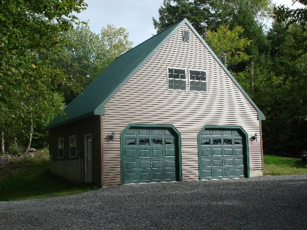 Atlantic building contractors for Garage building companies